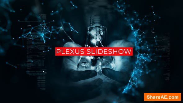 Videohive Technology Plexus Slideshow