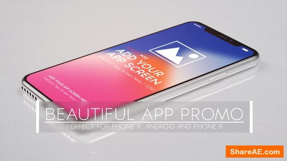Videohive Beautiful App Promo