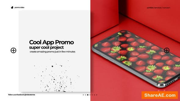 Videohive Cool App Promo