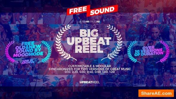 Videohive Big Upbeat Reel