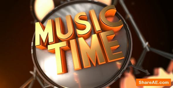 Videohive Music Time