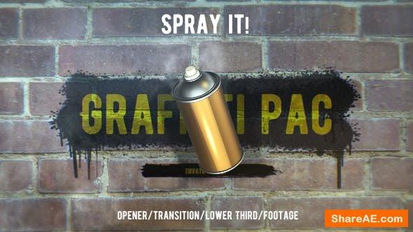 Videohive Graffiti Pac