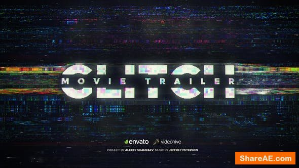 Videohive Glitch Movie Trailer 22370723