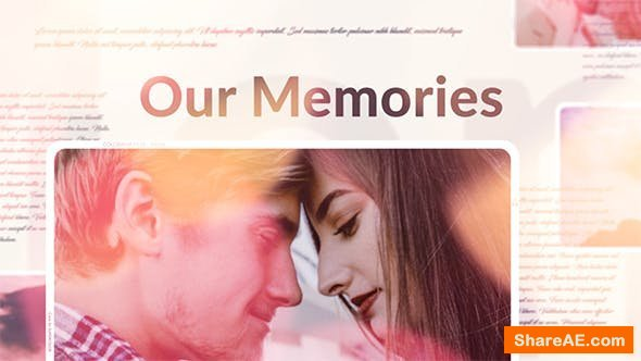 Videohive Our Memories Slideshow 21583038