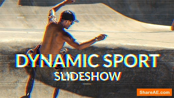 Videohive Dynamic Sport Slideshow