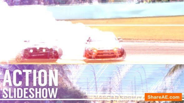 Videohive Action Glitch Slideshow 12858421