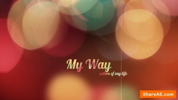 Videohive My Way