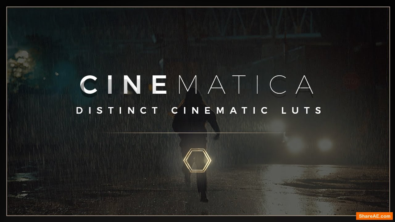 Cinemtica LUTS - Cinematic color grading - Thepresetfactory