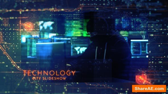 Videohive Technology City Slideshow