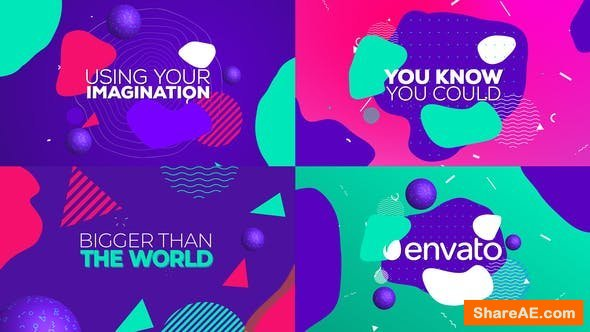 Videohive Colorful Movies Titles | Trailer