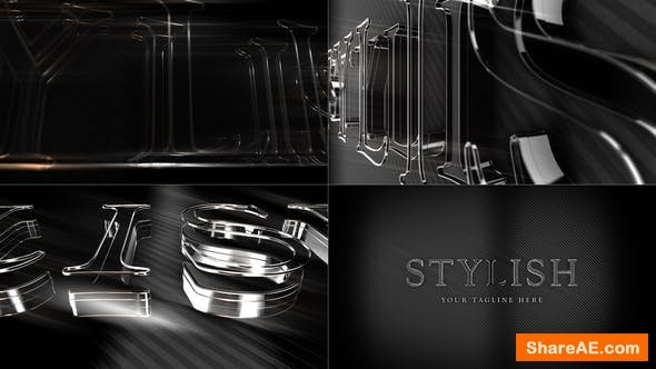 Videohive Shadows and Light Logo Reveal