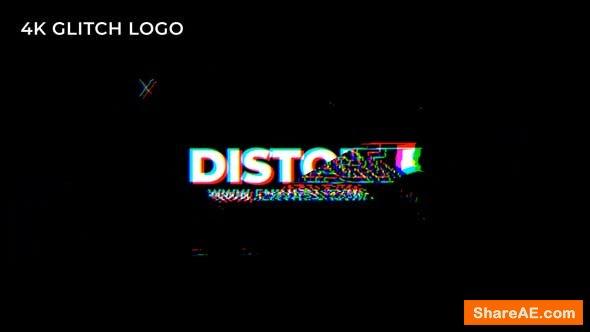 Videohive Fast Glitch Logo 23841698