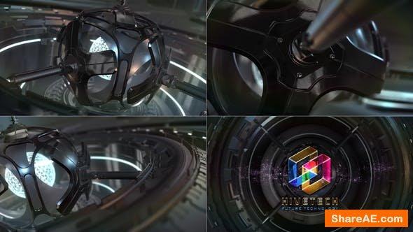 Videohive SciFi Cyber Tech Logo