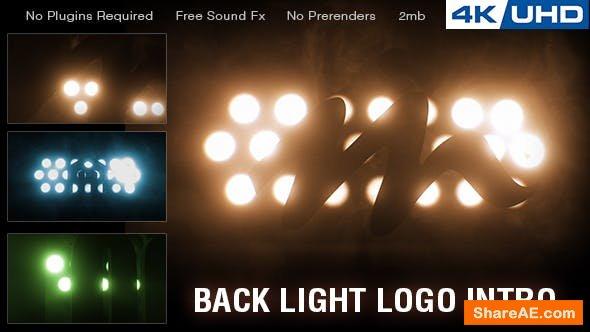 Videohive Backlight Logo Intro