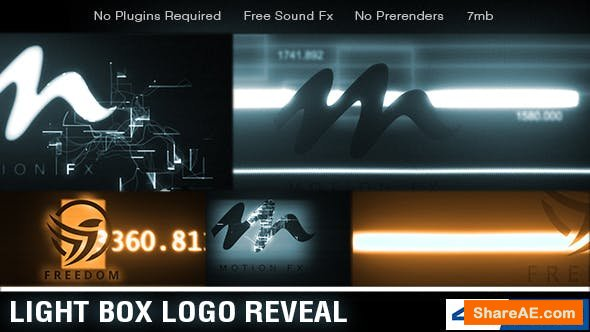 Videohive Light Box Logo Reveal