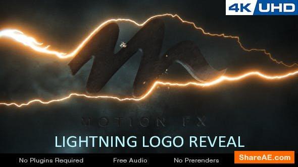 Videohive Lightning Logo Reveal