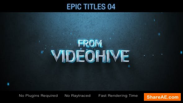 Videohive  Epic Titles 04