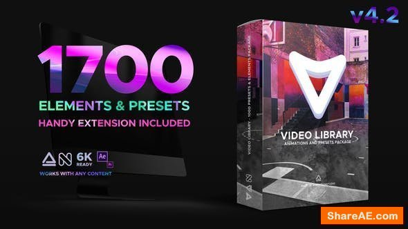 Videohive Video Library - Video Presets Package v4.2