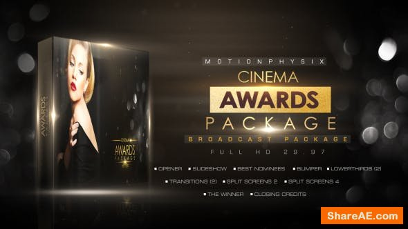 Videohive Cinema Awards Package