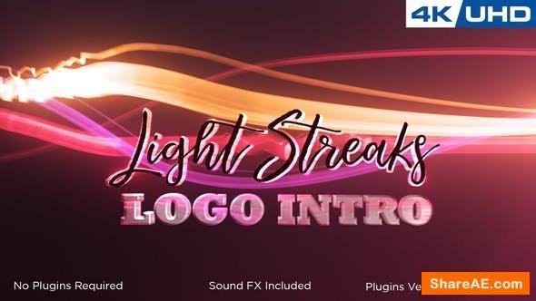 Videohive  Light Streaks Logo Intro