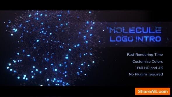 Videohive Molecule Logo Intro