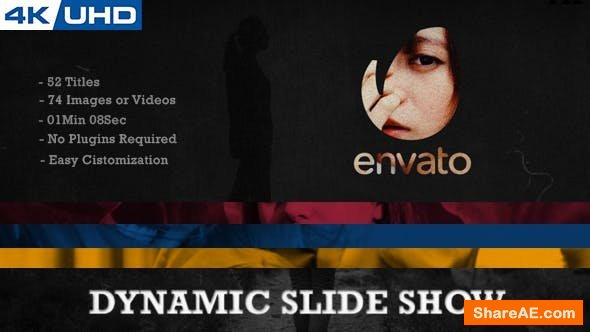 Videohive Dynamic Slide Show