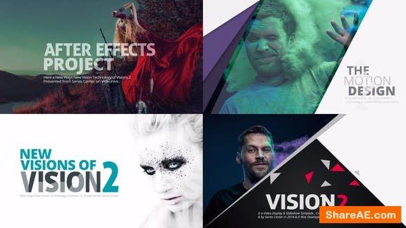 Videohive VISION 2 | Slideshow & Motion Title