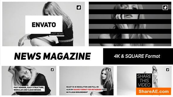 Videohive News Magazine