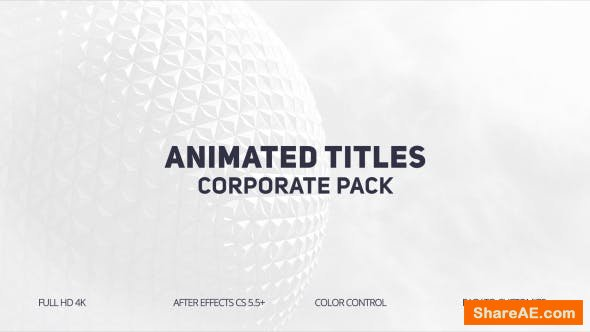 Videohive Animated Titles 20533056