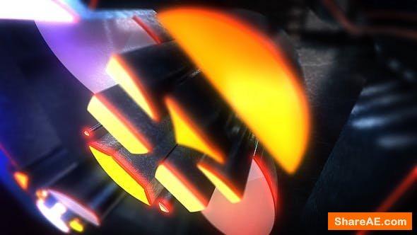 Videohive Night Glow Logo Reveal