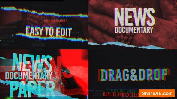 Videohive News And Documentary Opener