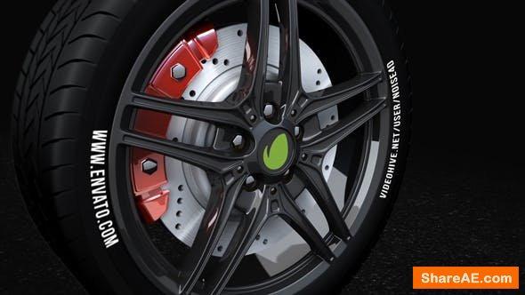 Videohive Car Wheel - Automotive Logo