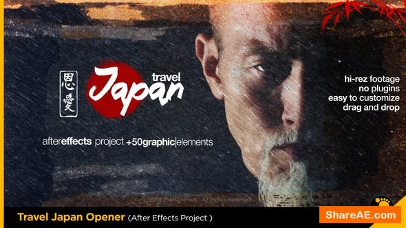 Videohive Travel Japan Tradition Opener