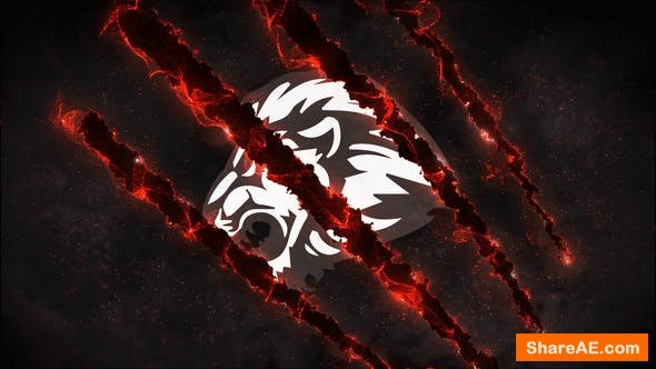 Videohive The Beast Logo Reveal