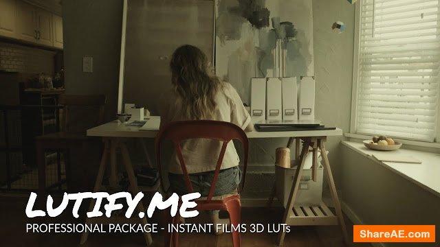 Instant Films LUTs - Lutify
