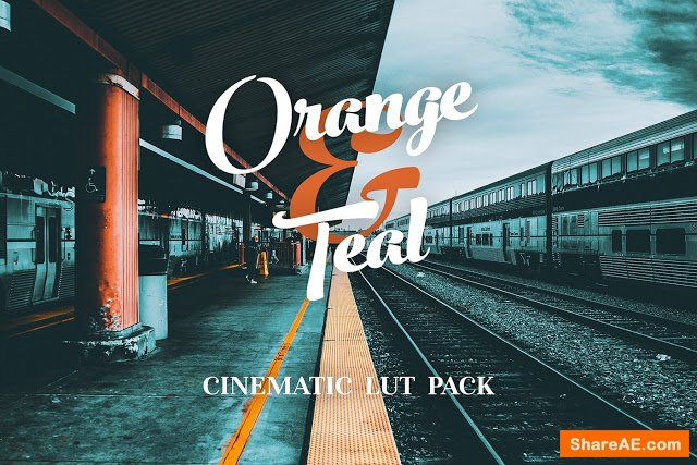 Orange and Teal LUTs Pack