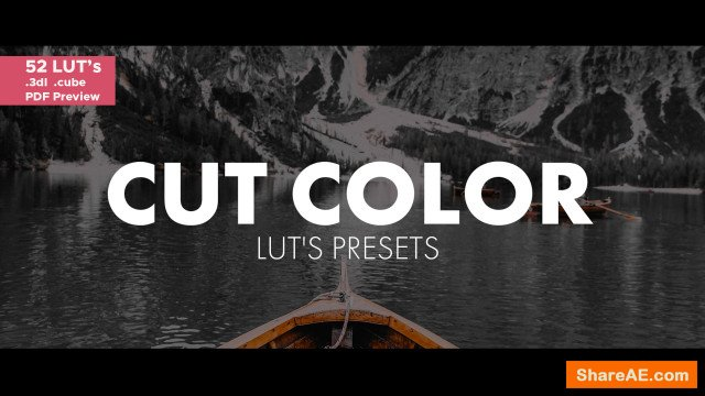 Cut Color LUT's 176115 (Motion Array)