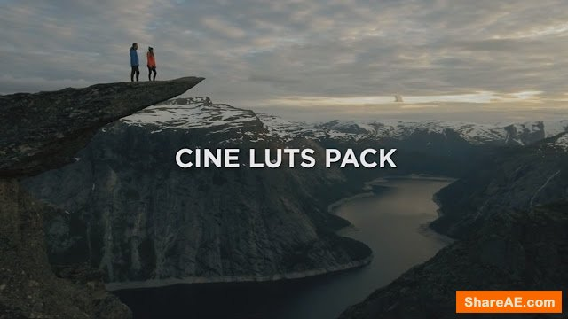 Cine LUTS Pack - Travelfeels