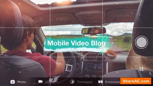 Videohive Mobile Video Blog