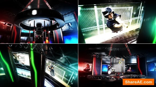 Videohive Extreme Video Stage