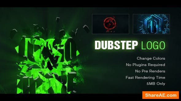 Videohive Dynamic Dubstep Logo