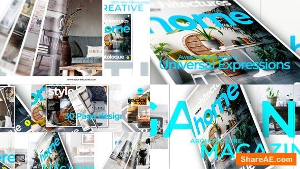Videohive Magazine Promo 23583009