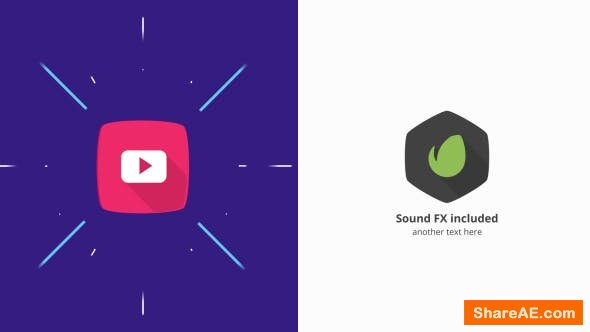 Videohive Simple Logo Animation » free after effects templates