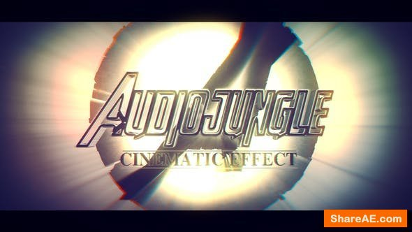 Videohive Cinematic Shatter Logo Intro
