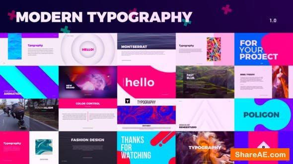 Videohive Creative Typography
