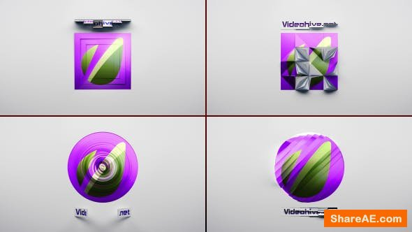 Videohive Classic Logo Reveal 4x1 Pack