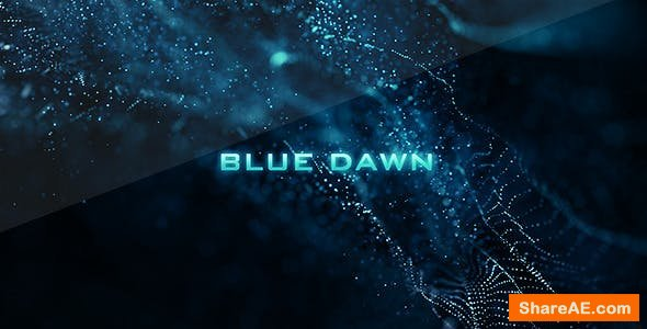 Videohive Blue Dawn - Movie Credits