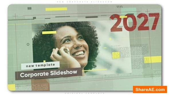 Videohive New Corporate Slideshow