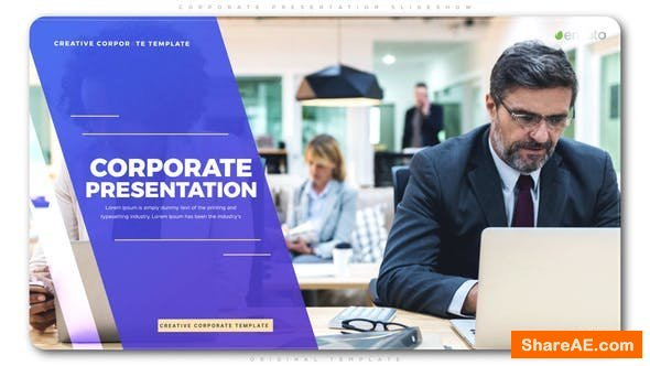 Videohive Corporate Presentation Slideshow 22800077