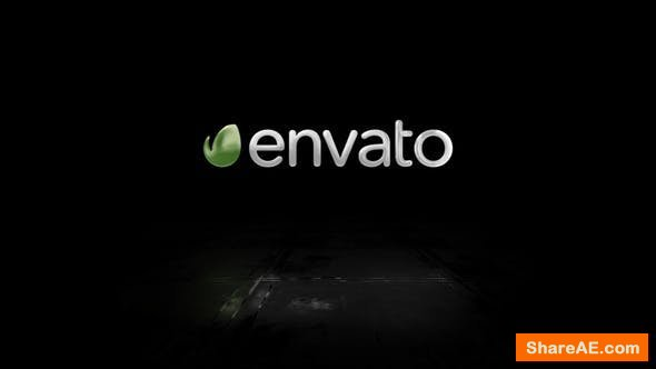 Videohive Simple 3D Logo Reveal